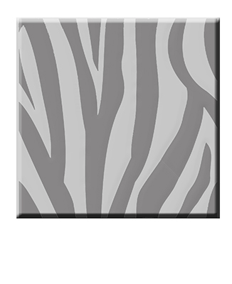 Animal print paving slab - concept